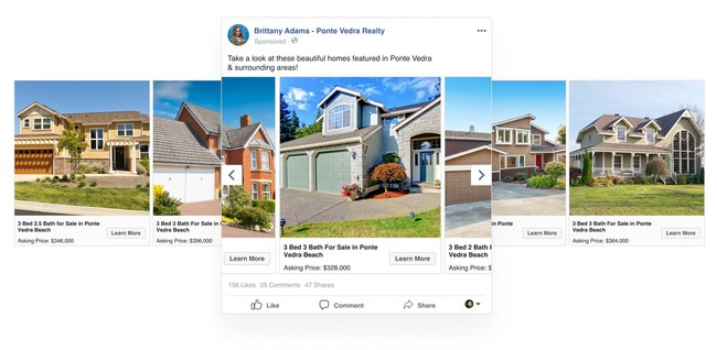 Home ASAP Projects Facebook Dynamic Ads for Real Estate Will