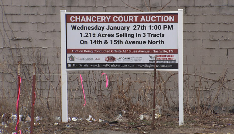 Nashville commercial real estate set for auction by court order